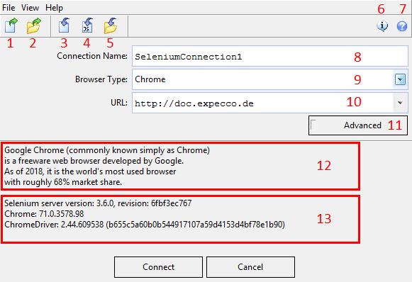 Selenium WebDriver Plugin/en – expecco Wiki (Version 2 x)